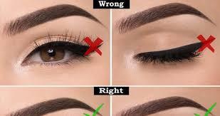 Eye Liner 7 eyeliner mistakes one should avoid banter