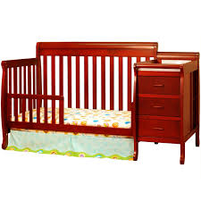 Crib And Change Table Combo by Cherry Wood Crib With Changing Table Karimbilal Net