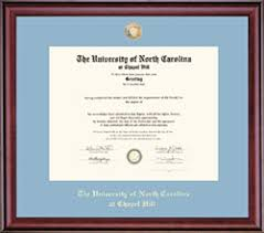 frames for diplomas diploma frames unc general alumni association
