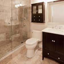 Small Ensuite Bathroom Renovation Ideas Gorgeous Modern Traditional Bathroom Remodel With Frameless Glass