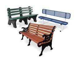 Park Bench And Table Commercial Outdoor Furniture Site Furnishings Commercial Patio