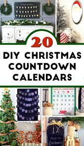 20 diy countdown calendar ideas foodie