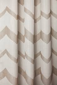 Curtain Vision Curtain Fabric Geometric Pattern Polyester Bergen Vision