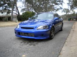 honda civic si 99 my 99 00 honda civic si my style honda civic si