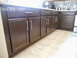Rustoleum Cabinet Chocolate by Decorating Cents March 2015