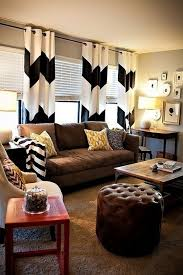 Casa Linda Furniture Warehouse by Bold Graphic Black And White Patterned Curtains Pillows And A