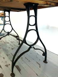 antique metal table legs catchy iron table legs iron desk legs full image for cast iron