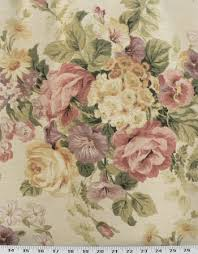 Shabby Chic Upholstery Fabric by Vintage Linen Burlap Light Gold Vintage Floral Online