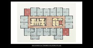 Housing Floor Plans by Greek Fraternity House Architect Hug U0026 Associates Architects
