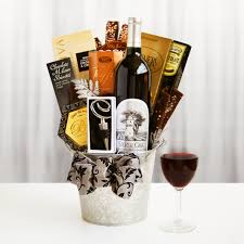 wine and chocolate gift basket silver oak gift basket wine shopping mall