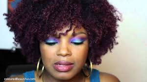 black women with purple hair purple hair color natural hair youtube