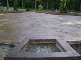 Concrete Patio With Pavers Artistic Stamped Concrete Of Rhode Island Artistic Concrete