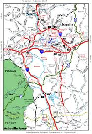 Map Of N Carolina Asheville Maps Asheville Now