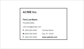 astonishing free templates for business cards printable business