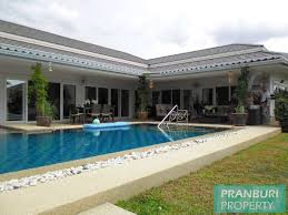 fabulous 4 bedroom pool villa with bar and guesthouse in hua