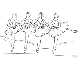 swan lake ballet coloring pages png 1199 894 ballet