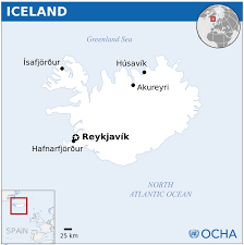 Iceland Map Location Iceland Map