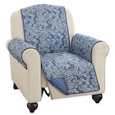 blue recliner amazon com