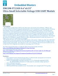 text emcom descargar driver ft230x basic uart fill online printable