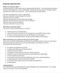 20 business plan templates free u0026 premium templates