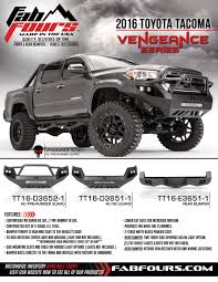 welcome to gale toyota toyota fab fours 2016 toyota tacoma bumpers u2013 taw all access