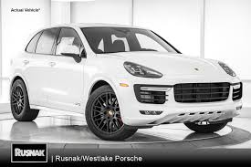 Porsche Cayenne White - porsche cayenne in pasadena ca rusnak auto group