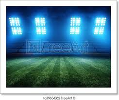 how tall are football stadium lights free art print of football stadium lights football field stadium