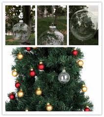 where to buy clear glass ornament balls buy clear glass