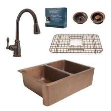 Kitchen Sink Copper Copper Kitchen Sinks Kitchen The Home Depot