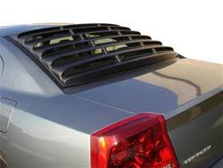 dodge charger louvers 2007 dodge charger summit racing rear window louvers sum wl1557