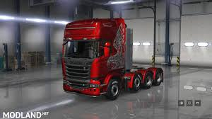 scania truck scania trucks for ats v1 1 1 29 mod for american truck simulator ats