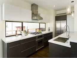Kitchen Window Design Mid Century Modern Kitchen With Two Tone Cabinets Kitchen
