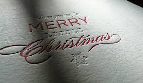 letterpressed christmas cards uk letterpress and foil examples