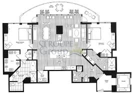 Penthouse Apartment Floor Plans Escala Floorplans