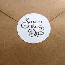 save the date stickers 30 custom save the date stickers labels with
