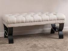 upholstered bench ebay