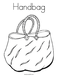 handbag coloring page twisty noodle