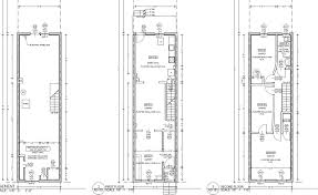 triplex plans small lot house row t 3 cool ideas narrow plans