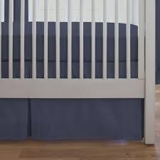 amazon com carousel designs solid navy crib bumper baby
