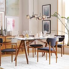 Light Dining Chairs Dane Upholstered Dining Chair West Elm