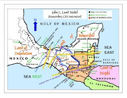 Map Of Mexico West Coast by A Summary Of Several Theories Of Book Of Mormon Lands In