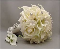 silk bridal bouquets 33 best flowers images on wedding decoration silk bridal