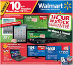 Walmart Black Friday Flyer and Ad Scan 2013