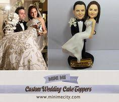 custom wedding cake toppers and groom custom figurines from your photos custom wedding cake toppers