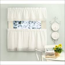 Overstock Kitchen Curtains by Bedroom Window Curtains Target Solid Metallic Window Curtain