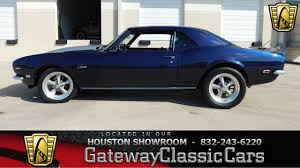 chevy camaro houston 1968 chevrolet camaro houston showroom stock 537