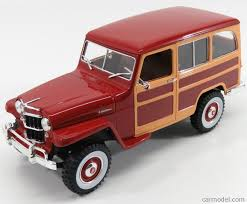 jeep station wagon 2016 lucky diecast ldc92858bur scale 1 18 jeep willys station wagon