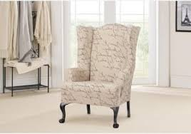 Wing Chair Cover How To Cover A Wingback Chair With Fabric Charming Light Fabric