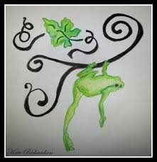 on this post you can see dragonfly n tree frog design