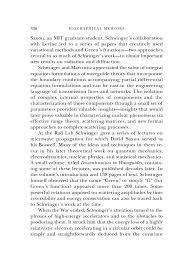 julian schwinger biographical memoirs volume 90 the national